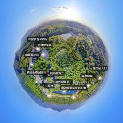 360度全景漫游系统